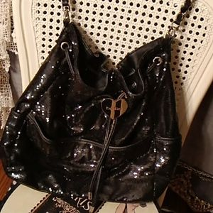 Bebe Sequin Handbag